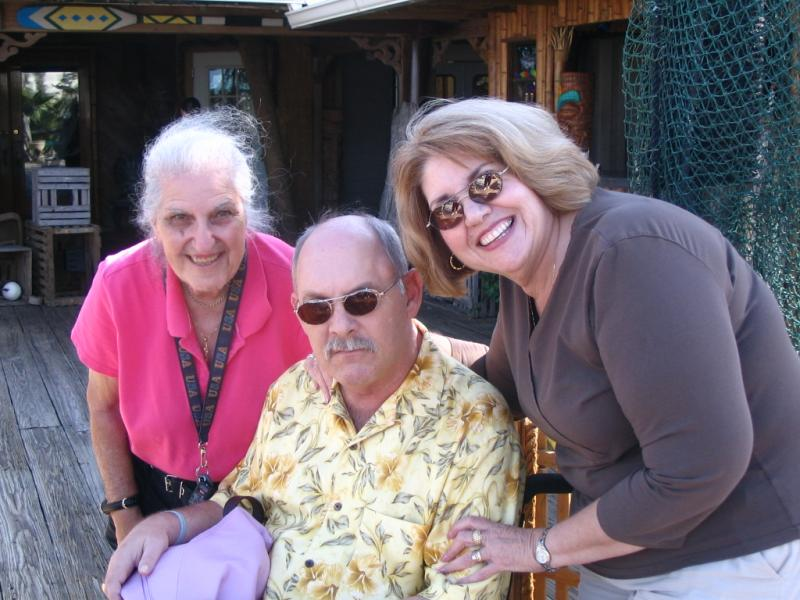 Bill, Phyllis and Ann at St. Augustine, FL