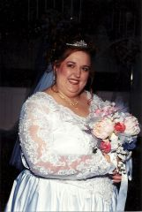 Wedding 2002- 5 Months after my stroke.
