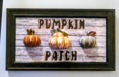 Pumpkin Patch DIY Wall Decor