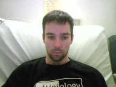 Me at the Mission Oaks rehab center, month after the stroke.