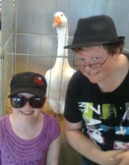 Naomi And Chris At easter Show 2013