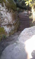 The first stairs