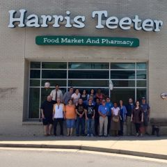 Par of the Harris Teeter Gang the day my store closed for good.
