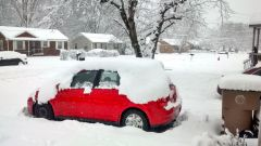 We don't get this much snow but we did last year. A freak 12 inches!