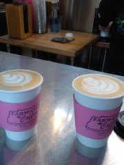 Delicious and Beautiful...Farm City Coffee