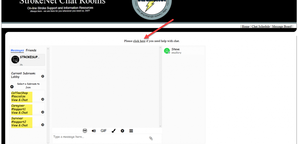 how to select a chat room - select a chat room.png