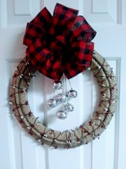 Pantry Jute Twine and Bell Wreath (NEW DIY)